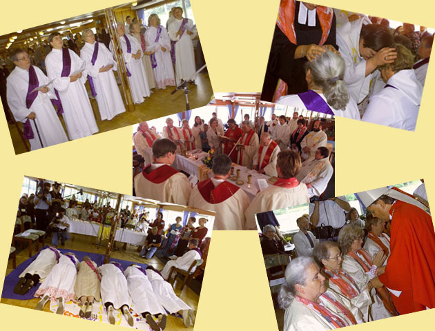 Photo montage of 2002 ordinations